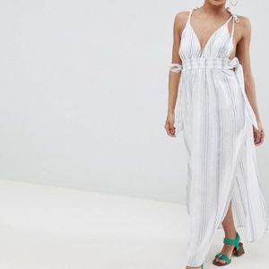 NWT Striped Maxi Dress